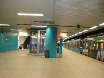 U-Bahnstation Willy-Brandt-Platz